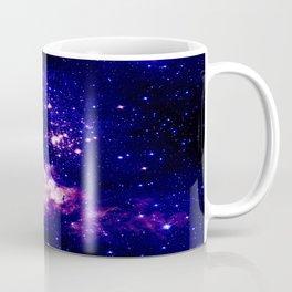 indigo galaxy : Celestial Fireworks Coffee Mug