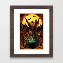 HALLOWS EVE Framed Art Print