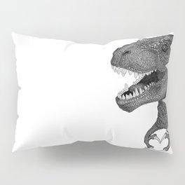 Dino Love Pillow Sham