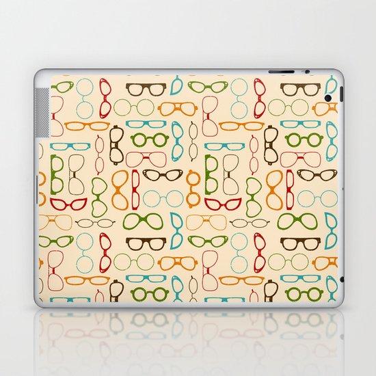 Retro glasses Laptop & iPad Skin