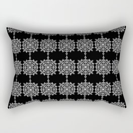 Frosted History Rectangular Pillow