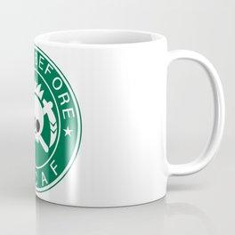 Death Before Decaf Coffee Mug