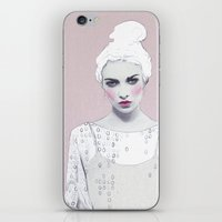 luna lovegood iPhone & iPod Skins featuring Luna by Jenny Liz Rome