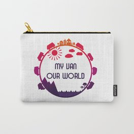 My Van Our World - Sunset Carry-All Pouch