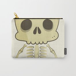 Cute Skull Halloween Character Carry-All Pouch