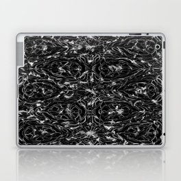 Black and white astral paint 5020 Laptop & iPad Skin