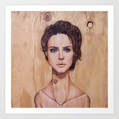 Lana, oh Lana! Art Print