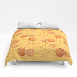 orange juice _ light Comforters