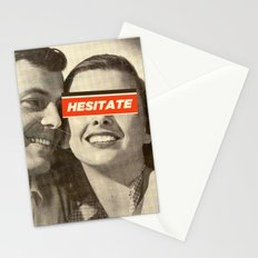Hesitate Stationery Cards