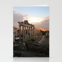 rome Stationery Cards featuring Rome by Anna's design