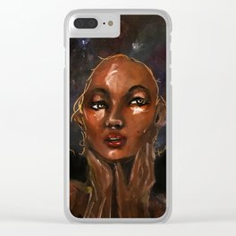 Titania Clear iPhone Case