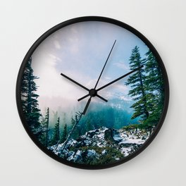 Overlook the Wilderness Wall Clock
