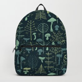 Magic Forest Green Backpack