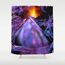 Vulcan Bombolo on Fantasia Shower Curtain