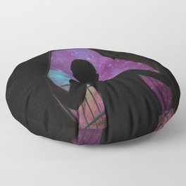 GLIMPSE OF THE UNIVERSE Floor Pillow