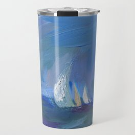 Blue Sails Travel Mug