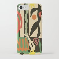 matisse iPhone & iPod Cases featuring Inspired to Matisse (vintage) by Chicca Besso
