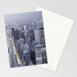 NYC from Empire State Building Stationery Cards