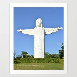 Christ of the Ozarks Art Print