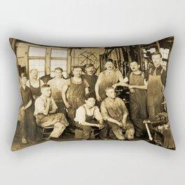 DeFrancisci & Son Macaroni Machines Rectangular Pillow