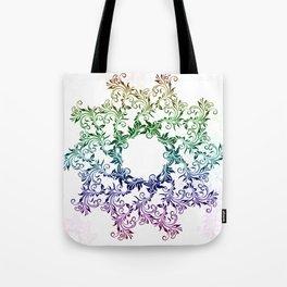 color mandala  #society6 #artwork #decor Tote Bag