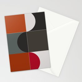 Abstract Composition 620 Stationery Cards