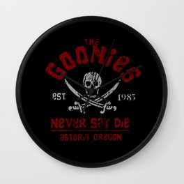 The Goonies - Never Say Die Wall Clock