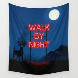 Walk by Night Wall Tapestry