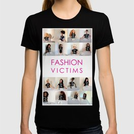 Fashion Victims Poster - alternate format T-shirt