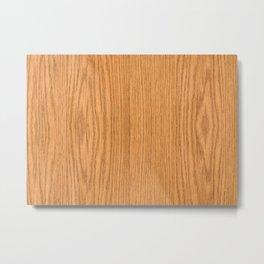 Wood Grain 4 Metal Print