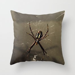 Little Seamstress Throw Pillow
