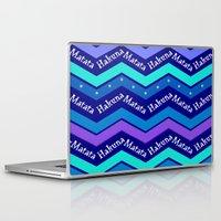 hakuna Laptop & iPad Skins featuring Hakuna Matata by Stay Inspired