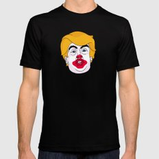 McDonald Trump Mens Fitted Tee X-LARGE Black
