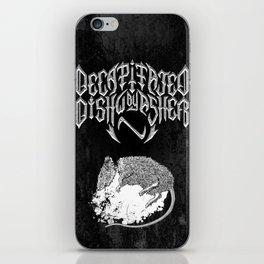 Decapitated by dishwasher II (black) iPhone Skin