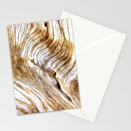 Organic design Tree Wood Grain Driftwood natures pattern Stationery Cards