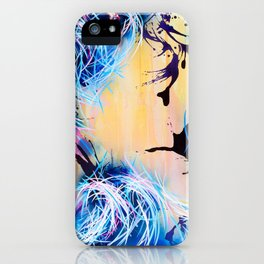 Falling Towards The Sky iPhone Case
