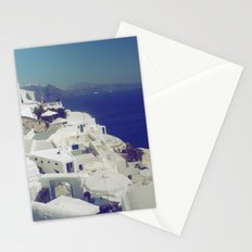 Santorini White & Blue Stationery Cards