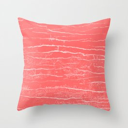 lobster stone Throw Pillow