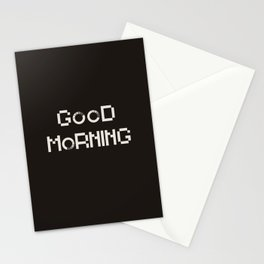 GOOD MORN/NG Stationery Cards