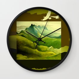 The Eyrie Wall Clock