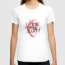 LOVE  –VS– HATE T-shirt