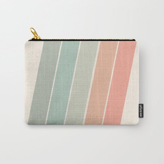 Trippin' - retro 70s socal minimal striped abstract art california surfing vintage by seventyeight