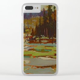 Tom Thomson Portage, Ragged Lake 1917 Canadian Landscape Artist Clear iPhone Case