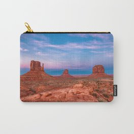 Westward Dreams - Sunset in Monument Valley Carry-All Pouch
