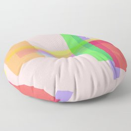rectangle multiples Floor Pillow