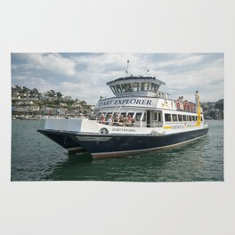 Dart Explorer on the River Dart in Dartmouth Rug