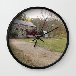 Wayside Inn Mill Wall Clock