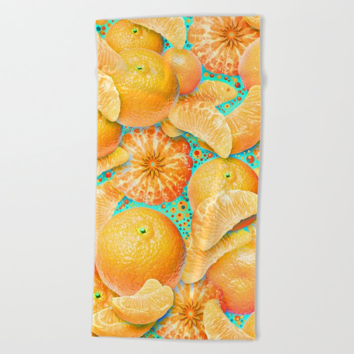 Clementine Beach Towel