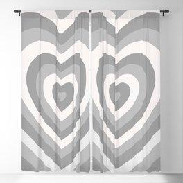 Off Color Heartbeat Blackout Curtain