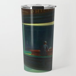 Nighthawks By Edward Hopper Travel Mug